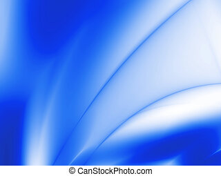 Abstract blue beams, rays and gradients in a combination with white