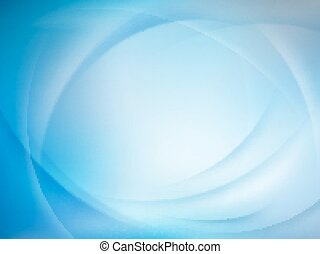 Abstract blue blurred background. EPS 10 vector