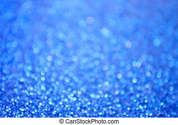Abstract Blue Bubbles Background