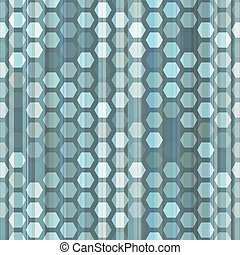 abstract blue cells seamless