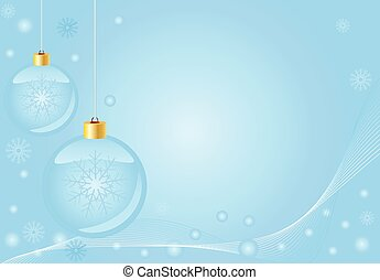 Abstract blue christmas background,