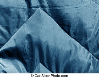 Abstract blue cloth texture.