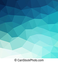 Abstract blue colorful geometric background - Abstract...