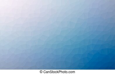 Abstract blue colorful lowploly of many triangles background...