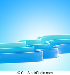 Abstract blue copyspace background