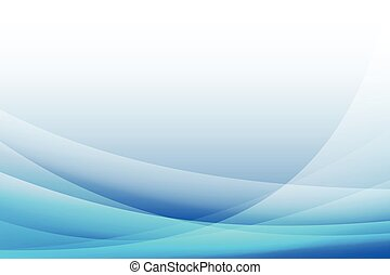 abstract Blue curve background,vector,illustration