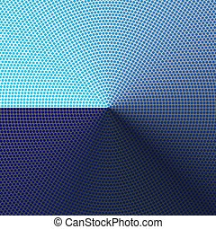 abstract blue dots background with gradient
