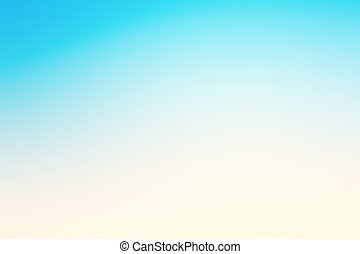Abstract blue effect background with summer beach mood