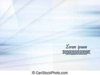 Abstract blue elegant background