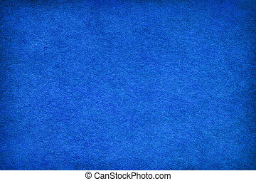 Abstract blue felt background