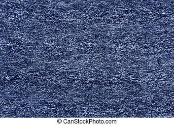 Abstract blue felt texture.