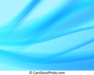 abstract blue flow