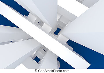 abstract blue for background
