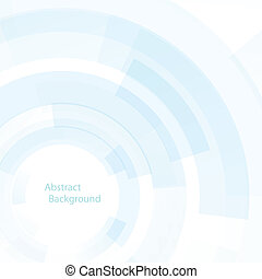 Abstract blue futuristic background, vector