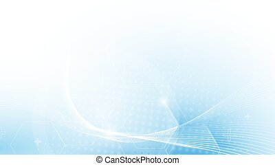 Abstract blue Futuristic technology concept background