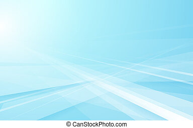 Abstract blue geometric technology background. Vector illustration