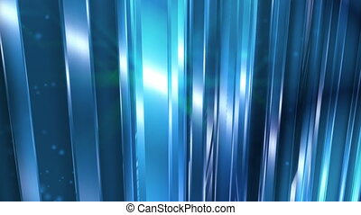 Abstract Blue Glass Background Loop