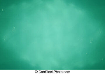 Abstract blue green water