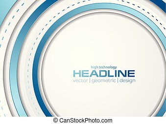 Abstract blue grey tech corporate background