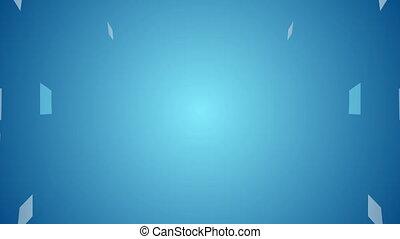 Abstract blue hi-tech motion design - Abstract blue hi-tech...