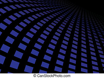 Abstract blue highway
