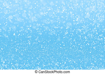 Abstract blue holidays lights on background