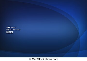 Abstract blue light vector background.