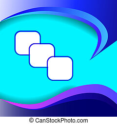 Abstract blue light vector background