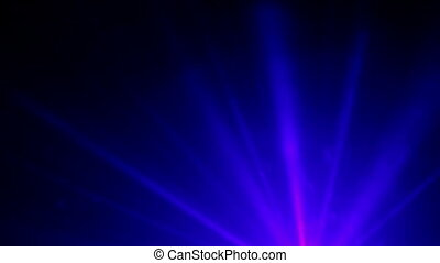 Abstract blue lights.