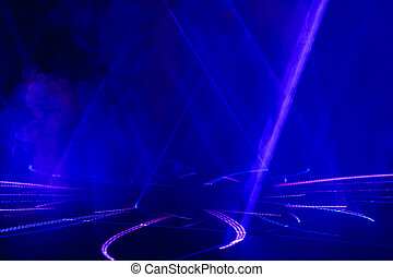 Abstract blue lines light background