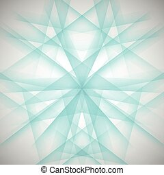abstract blue lines on a white background