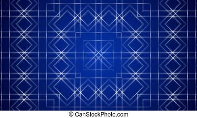 blue loop motion background