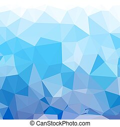 Abstract blue low poly background. Vector eps10 illustration...