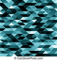 Abstract blue lowpoly designed vector background. Polygonal elements backdrop.