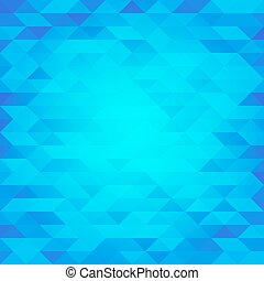 Abstract blue lowpoly designed vector background. Polygonal...