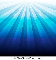 abstract blue luminous with bokeh background. illustration vector.