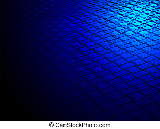 abstract blue metallic surface, construction - abstract blue...