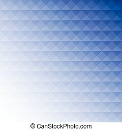 Abstract blue mosaic design background