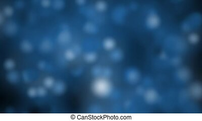 Abstract Blue Particle Background Loop