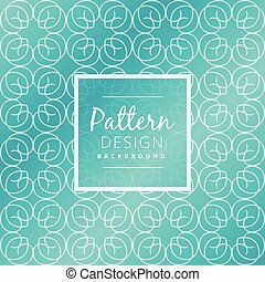 abstract blue pattern design