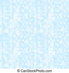 Abstract blue pixelated pattern