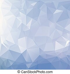 Abstract blue polygon texture