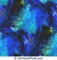 abstract blue, purple seamless texture watercolor brush strokes