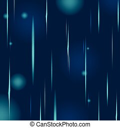 Abstract Blue Rain Glow Background Vector