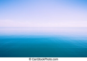 abstract blue sea and sky background