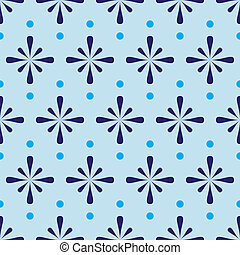 abstract blue seamless pattern eps10