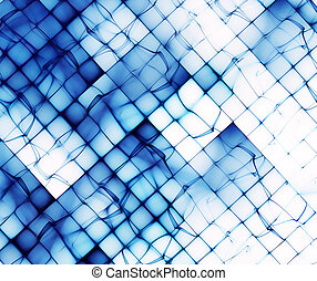 abstract blue shapes