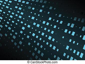 Abstract blue shiny techno vector floor