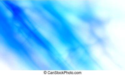 abstract blue smoke,seamless loop.