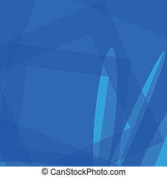 Abstract blue soft light background vector